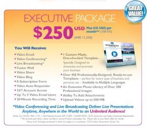 Talk Fusion Executive Pack