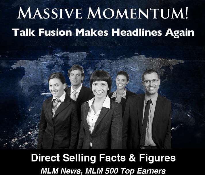 Talk Fusion massives Momentum www.BusinessForHome.org