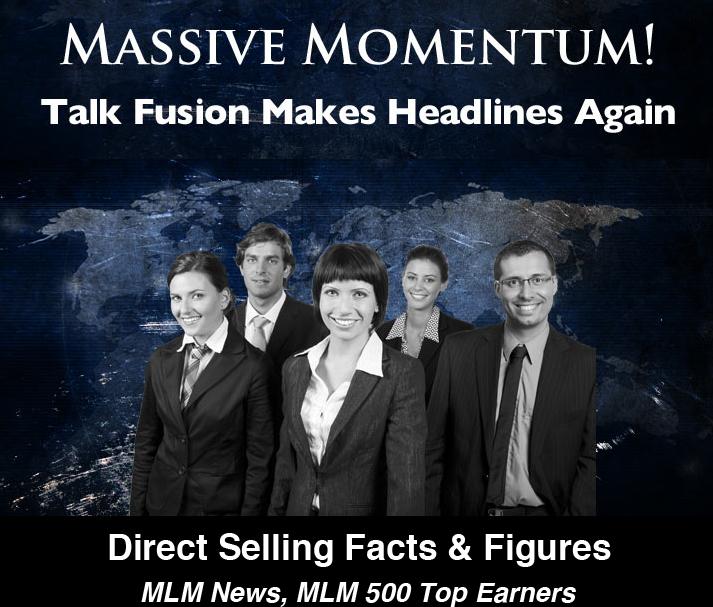 Talk Fusion massives Momentum www.BusinessForHome.org