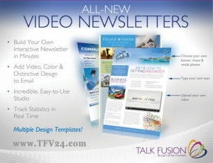 Talk Fusion Video Newsletter auf html basis